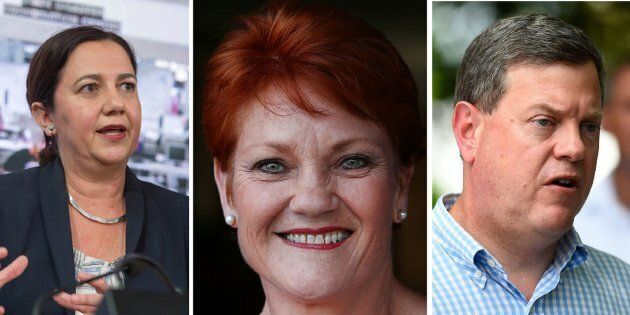 One Nation could land up to ten seats in next week's Queensland