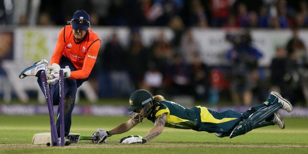 Englishwoman Sarah Taylor is one bloody good keeper.