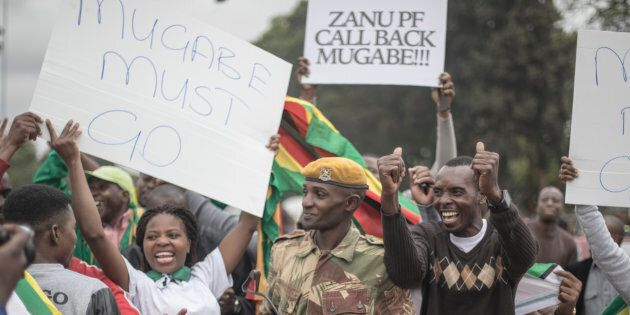 Zimbabwe's President Mugabe Fired As Ruling Party