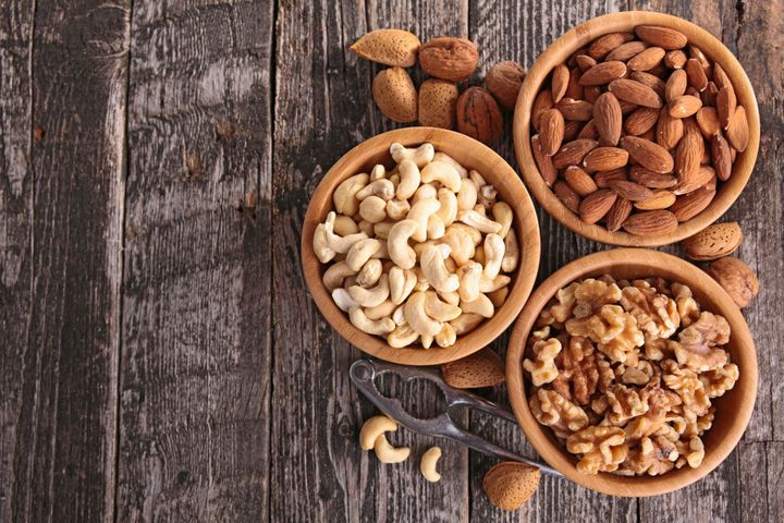 Nuts are safe, in moderation. Phew.