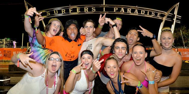 23,000 school-leavers have had their first weekend of celebrations at the Gold Coast as part of