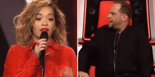 Rita Ora Tried To Prank 'The Voice Of Germany' But No One Recognised