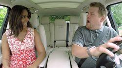 We Just Couldn't Get Enough Of Carpool Karaoke And FLOTUS This
