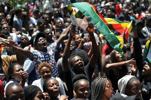 University of Zimbabwe's student demand the withdrawal of Grace Mugabe's doctorate and refuse to sit...