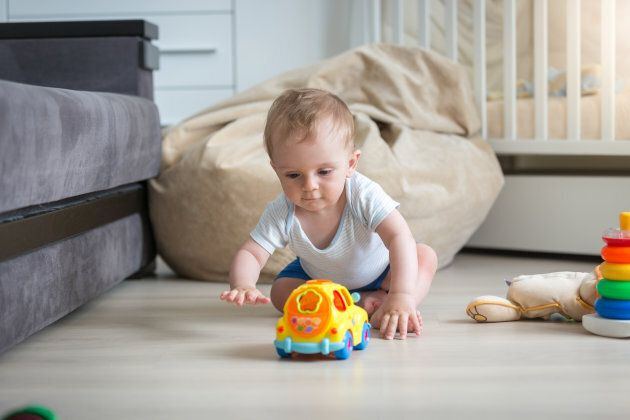 Babies can make connections between words and objects from an early