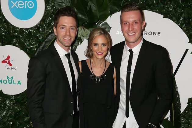 Co-founders Daniel Flynn, Justine Flynn and Jarryd