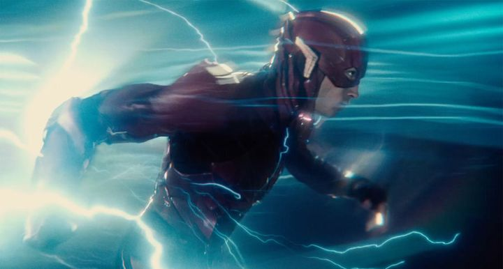 Ezra Miller's Barry Allen (aka the Flash) was a fast favourite in the film.