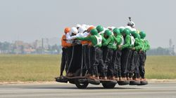 Indian Team Breaks World Record For Most People On A