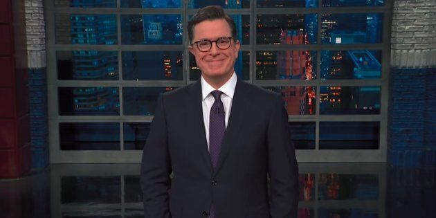 Stephen Colbert Roasts Bob Katter's Bizarre Same-Sex Marriage