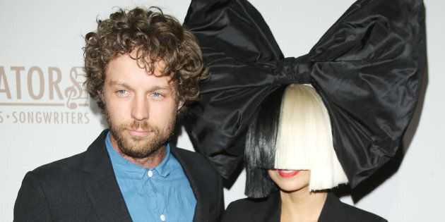 Sia and husband Erik Anders Lang are