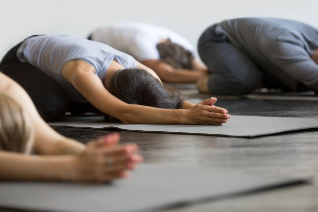 Beginner's yoga is a great way to ease into
