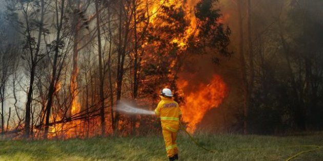 Warm and dry conditions have heralded an early start to the bushfire season in eastern Australia.
