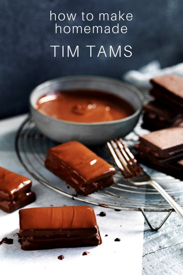 How To Make Tim Tams At