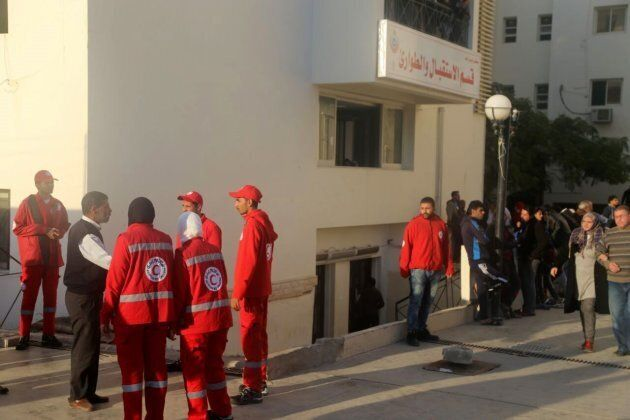 More than 100 people were injured in the bomb