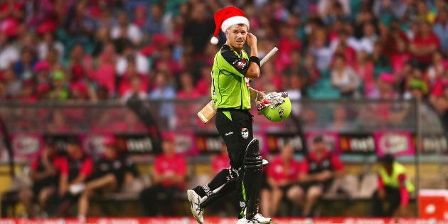 Good King Wenceslas looked out, on the SCG.
