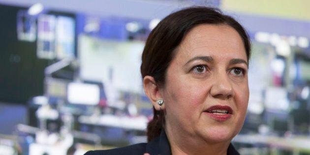 Annastacia Palaszczuk's led Labor is ahead in