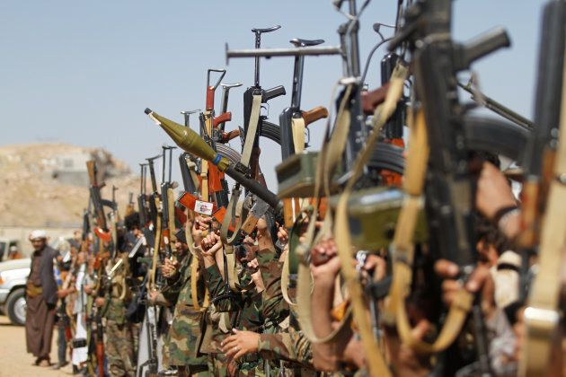 The Houthi militants control much of northern