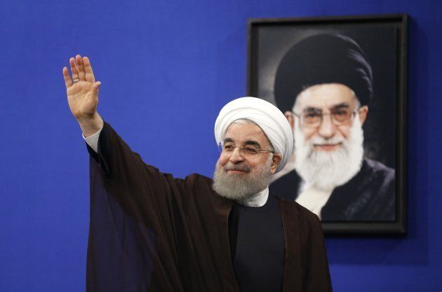 Iran's Supreme Leader Ayatollah Ali Khamenei is the head of armed forces.