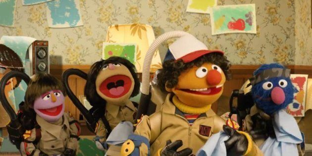 This 'Sesame Street' Parody Of 'Stranger Things' Is Pure