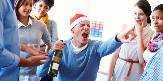 What Not To Do At Your Work Christmas