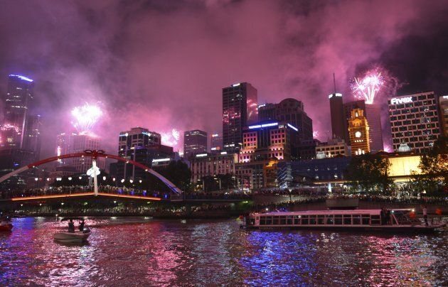 Around 450,000 revellers are expected to gather in Melbourne's CBD to bring in the new
