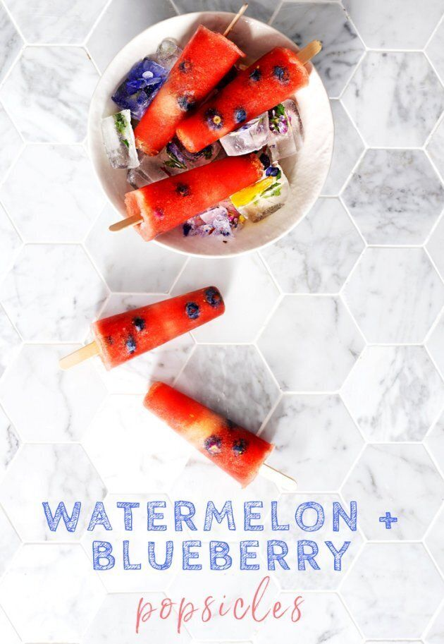 How To Make Healthy Blueberry And Watermelon