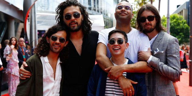 Australian rock group Gang of Youths were the big winners at the 2017 ARIA