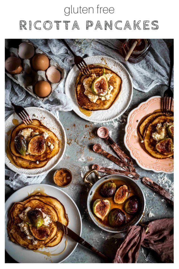 Delicious Gluten Free Ricotta Pancakes