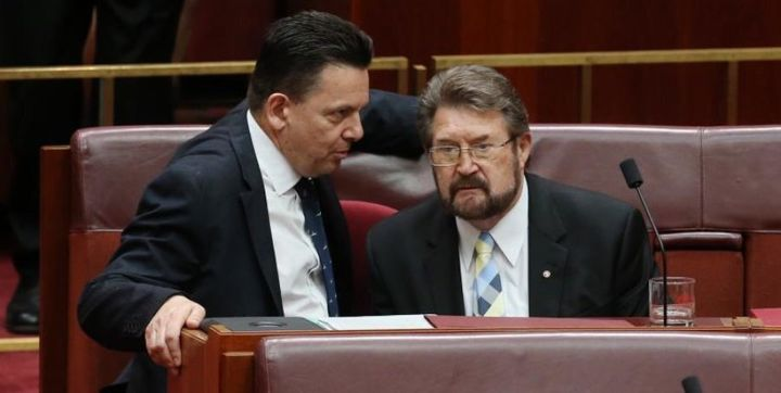 Derryn Hinch says Nick Xenophon is very zealous about South Australia