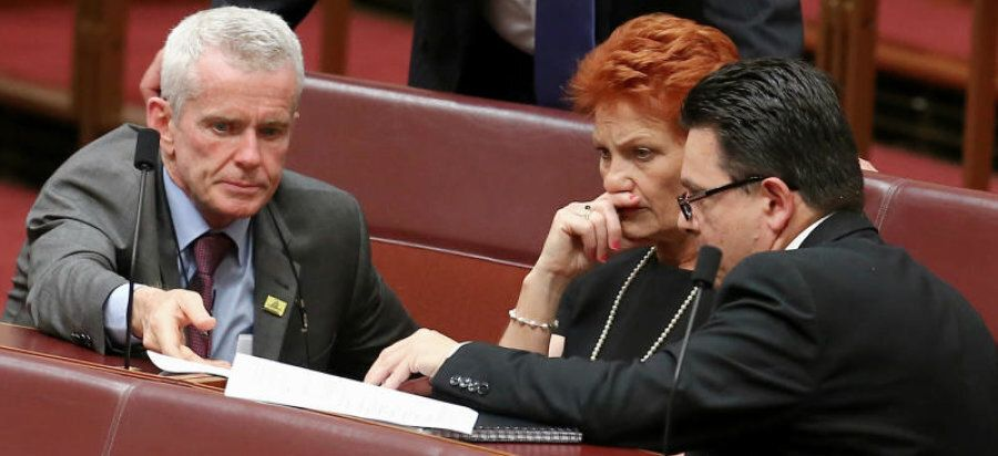 Nick Xenophon has good relations across parliament including the One Nation