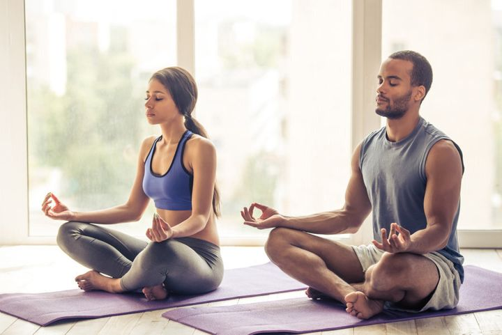 Try mediation and yoga. It's gentle, relieves stress and can help you stay on track with your goals.