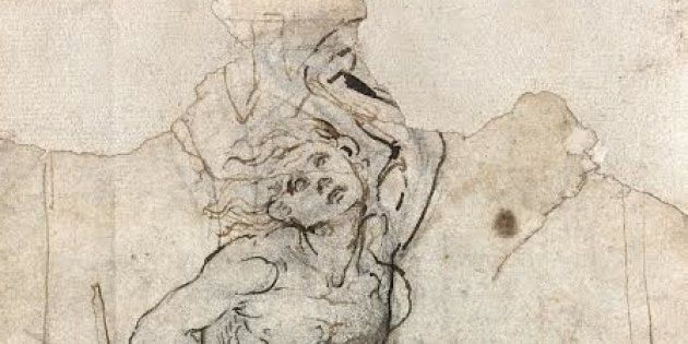 A French auction house has announced the discovery of a never-before-seen sketch by Italian master Leonardo da Vinci. The drawing, pictured, depicts Saint Sebastian.