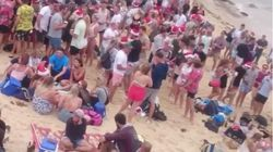 Two Massive Drunken Beach Parties Marred Christmas In
