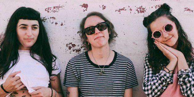Melbourne band Camp Cope called out what they saw as gender imbalance on the Falls Festival