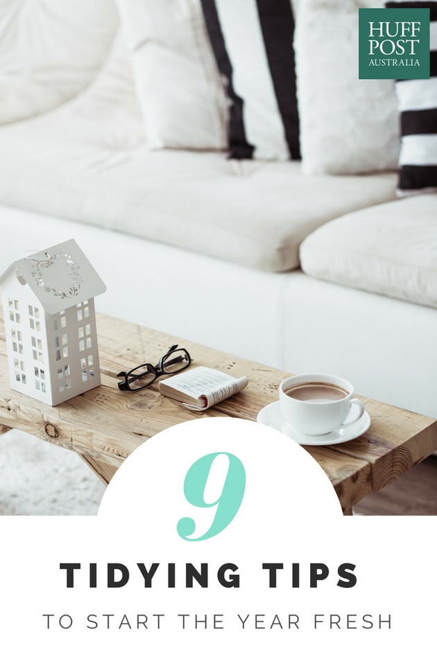 Hit Reset At Home: Nine Tidying Tips To Start The Year