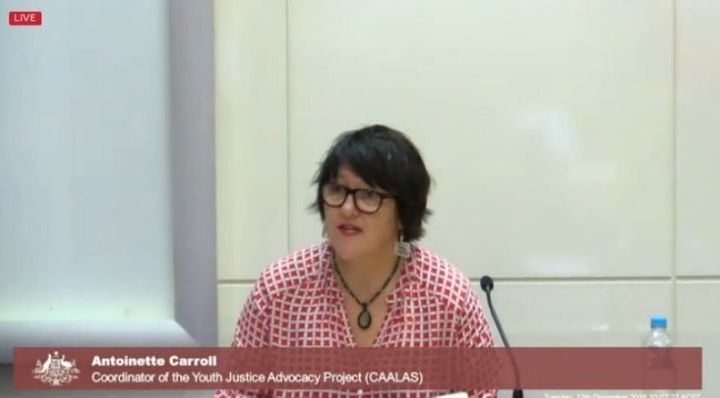 Antionette Carroll told the commission the system set Voller up to fail.