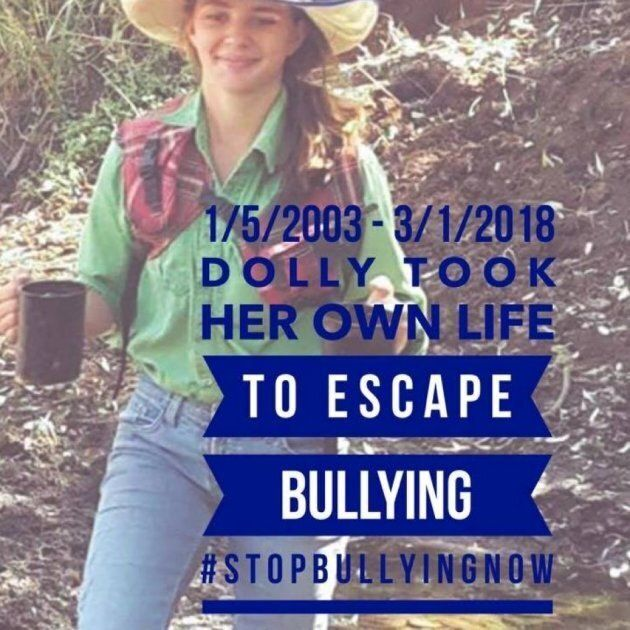 The anti-bullying campaign poster used by Amy Jayne Everett's