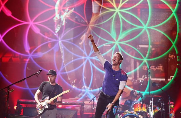 Coldplay Put On A Stunning Performance In