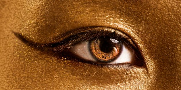 Gold is to be used in eye care