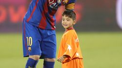 When This Afghan Kid Met Lionel Messi, He Simply Refused To