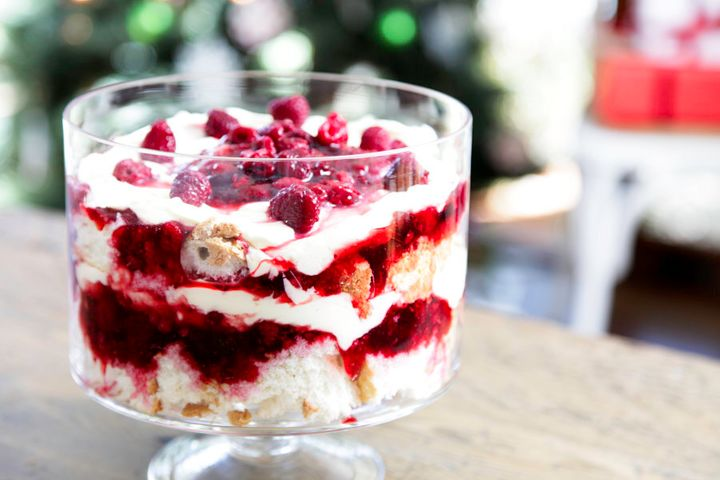 Yes, trifle can actually be delicious, you just have to do them well.