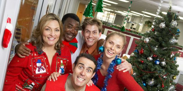 A Christmas Party.How To Enjoy The Office Xmas Party And Not Lose Your Job