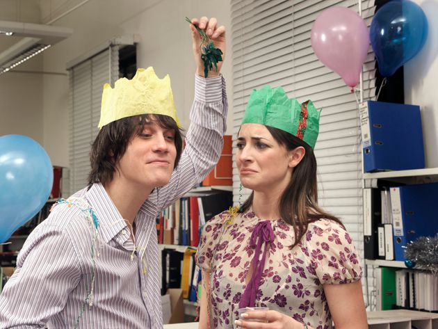 If you have a crush on a workmate, the office Xmas party is not the place to let them