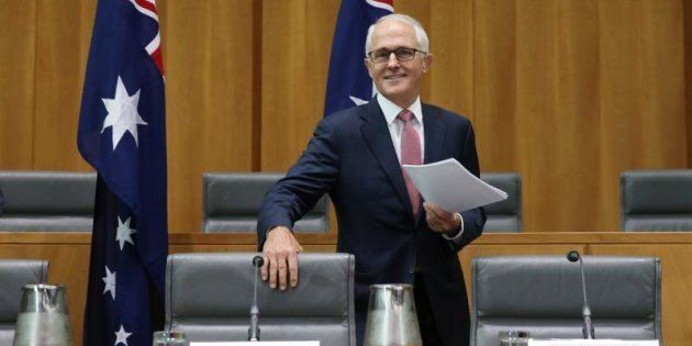 Malcolm Turnbull says lawn fences are being erected based on