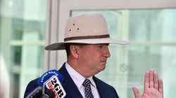 SMH: Barnaby Joyce And Vikki Campion's First