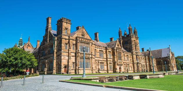 The University of Sydney, one of the universities named in the report.