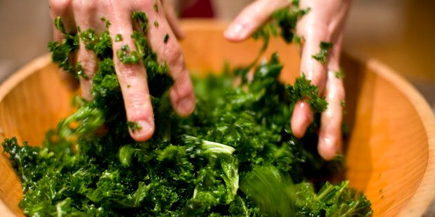 If you are not massaging your kale you have not been part of society in