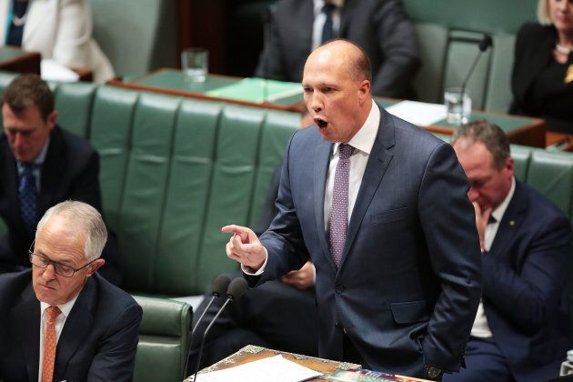 Australian minister for immigration and border protection Peter Dutton. May 10, 2017; Canberra, Australia.
