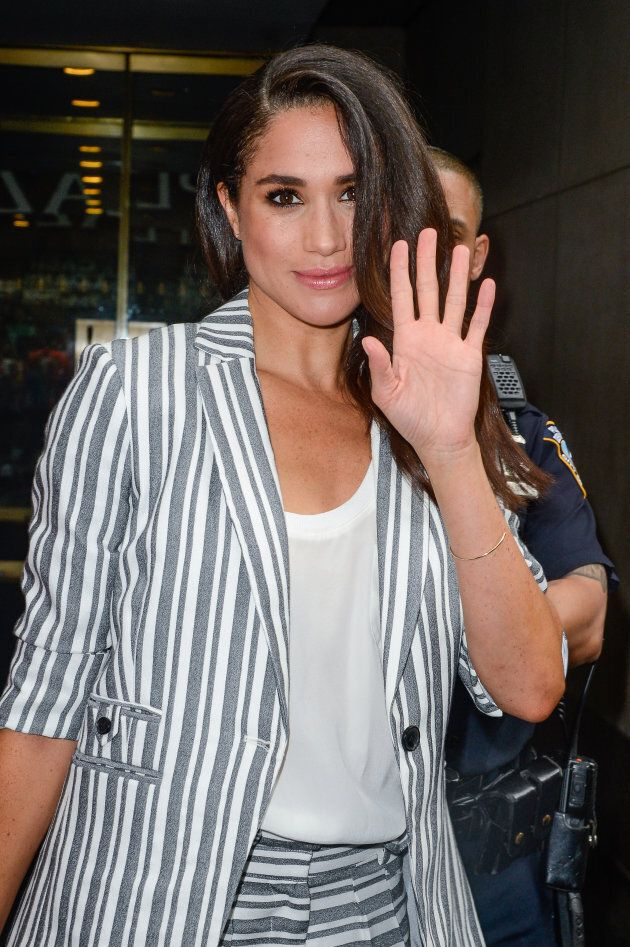 Meghan Markle in July 2016, around the time she met Prince