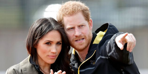 Meghan Markle and Prince Harry in April.